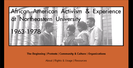African American Activism & Experience at Northeastern University