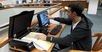 Scanners in Snell library
