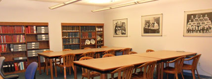 Archives and Special Collections Department Reading Room.