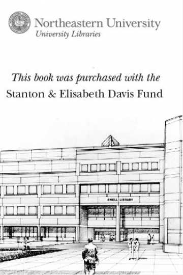 This book was purchased with the Stanton & Elisabeth Davis Fund