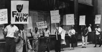 NAACP Pickets School Committee