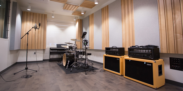 The new Audio Recording Studio in the DMC