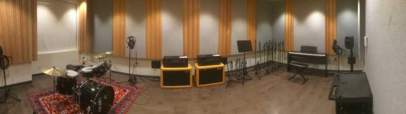 Picture of recording studio